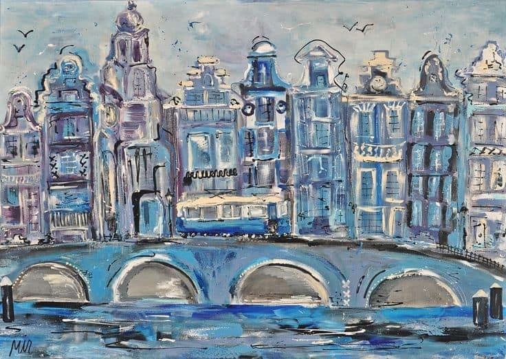Amsterdams grachtenpand