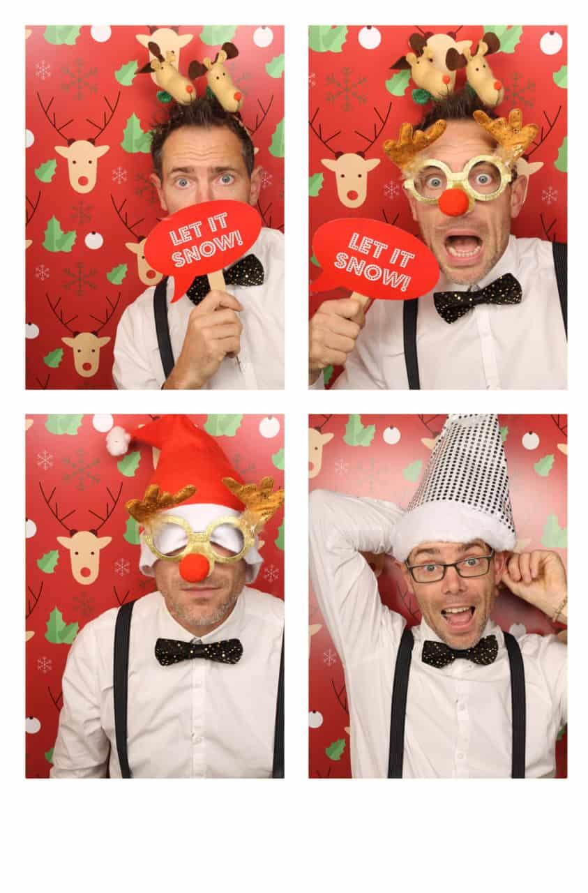 fotobooth huren kerstborrel