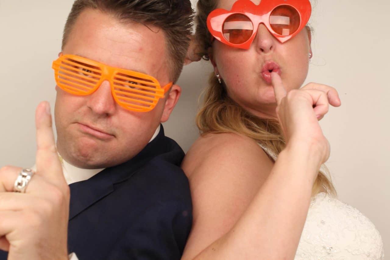 Fotohokje bruiloft Mark en Yvonne