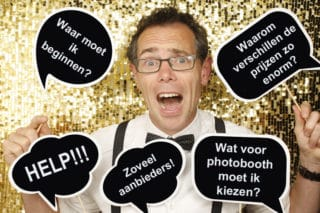 Photobooth kiezen voor nieuwe klanten