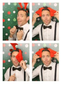 photobooth christmas drinks